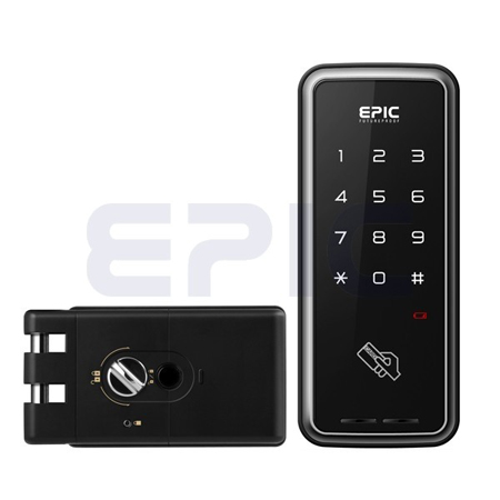 Электромеханический цифровой дверной замок EPIC TOUCH HOOK_electro-mechanical-digital-door-lock-epic-systems-touch_hook_information_security