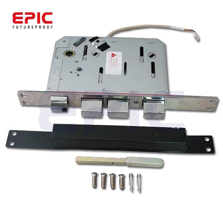 Электромеханический цифровой дверной замок EPIC ES-809L (Euro врезной)_electro_mechanical_digital_door_lock_epic_systems_es_809-l-euro-mortise-information-security